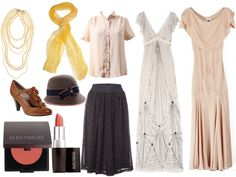 downton abbey inspired fashion (though I wouldn't mind wearing the real thing)