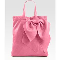 RED Valentino Bow Tote Bag