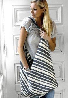 Strik selv: Smuk strikket taske fra Hendes Verden