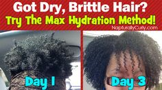 Napturally Curly Featured Maximum Hydration Method On her site! Max Hydration Method Results on Type 4 Hair Natural Hair Regimen, Natural Hair Tips, Natural Hair Journey, Be Natural, Natural Hair Styles, Going Natural, Natural Skin, Natural Beauty, Beauty Tips