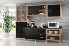 8 Cozinhas compactas que vão deixar sua casa linda!