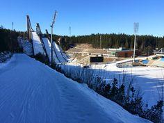 Lahti ski-center, March 2015