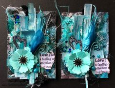 ATC in turquoise