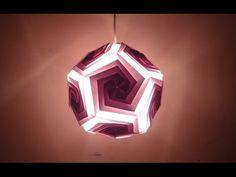 Paper Crafts (Diwali Decoration Ideas):Beautiful Multicoloured Lantern - YouTube