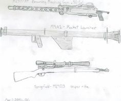 US weapons part 2