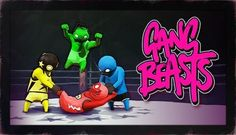 I am streaming gang beast Gang Beasts, Ps3 Games, Video Game News, Party Games, Board Games, Battle, The Originals, Cards, Gaming