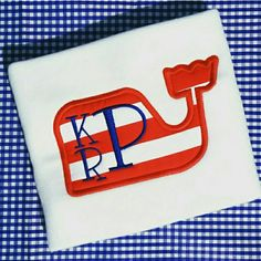 Boys preppy whale- striped whale monogram shirt- appliqué whale- boys spring appliqué- affordable whale appliqué- free monogram- patriotic