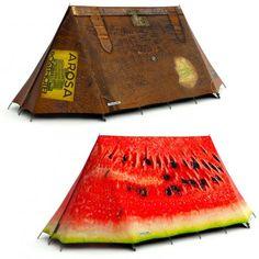 quero acampar!
