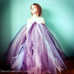 The Elisabeth - Custom Tulle Tutu Dress - SEWN and Super FULL -  your choice of colors and length