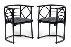 Joseph Hoffmann chairs 1908