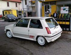 Renault 5 GT Turbo White