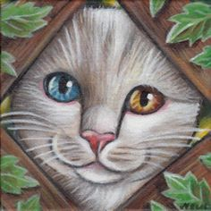 mini painting of cats - Google Search