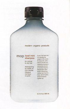 Modern Organic Products Packaging | Liska + Associates 1999 #packaging #90's