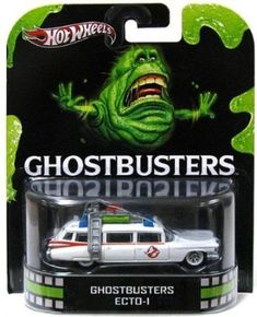 Hot Wheels 2012 Retro Series Die-Cast Ghostbusters ECTO-1 1:64 Scale @ niftywarehouse.com #NiftyWarehouse #Geek #Horror #Creepy #Scary #Movies