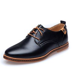 Mens Fashion Faux Fur Oxford Shoes (2 Colours)
