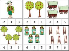 Johnny Appleseed math lesson