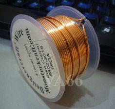 DIY 4 meters Copper Designer Bare Copper Craft by vcrystalshop, $6.90  e anellini di chiusura