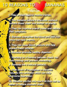 10 Reasons To Love Bananas