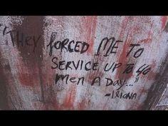 Gainesville Art Against Human Trafficking - Installation by Sereen Gualtieri: http://dontsellbodies.org/#