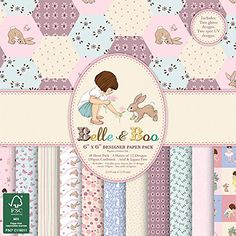 Trimcraft Paper Pad 6x6 48PkgBelle  Boo Ii *** Want additional info? Click on the image.