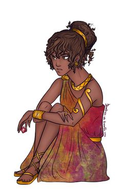 Hazel all dressed up!<------- probably headed to percabeth's wedding<<< She doesn't look excited for it then