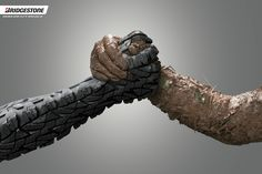 The Print Ad titled MUD was done by Publicis Caracas advertising agency for product: Bridgestone Tyres (brand: Bridgestone) in Venezuela. Clever Advertising, Advertising Poster, Advertising Design, Ads Creative, Creative Posters, Creative Design, Graphic Design Print, Ad Design, Bridgestone Tires