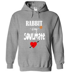 Limited Edition Rabbit is my Soulmate #pet #rabbit ORDER HERE => https://www.sunfrog.com/Pets/Limited-Edition-Rabbit-is-my-Soulmate-SportsGrey-21056895-Hoodie.html?70507