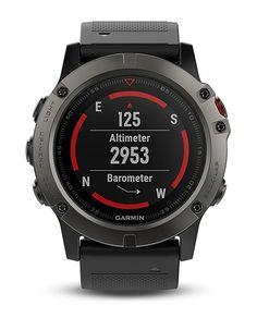 Garmin Fenix 5 - Compass, Barometer, Altimeter