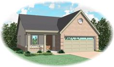 Collingsworth 8082 - 3 Bedrooms and 2.5 Baths | The House Designers