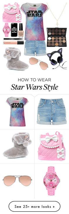 """This is what I like!"" by unicorngirl10 on Polyvore featuring River Island, Sugarbaby, Casetify, Trish McEvoy, Bare Escentuals, OPI, Sydney Evan and Ray-Ban"