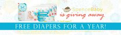 SPENCE BABY GIVEAWAY – FREE HONEST CO. DIAPERS & WIPES FOR AN ENTIRE YEAR!