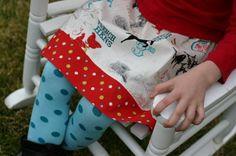 SALE 12 Days of Christmas Twirl Skirt by wonderfullymade139, $15.00