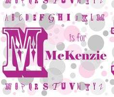 mckenzie fabric by the_rural_rose on Spoonflower - custom fabric