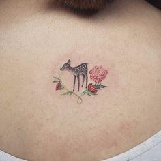 cute dainty tattoo