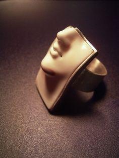 Carving   SHINJI NAKABA carved seashell, silver 925,