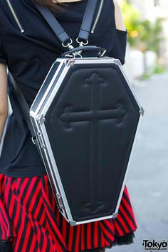 I've always wanted a coffin backpack!
