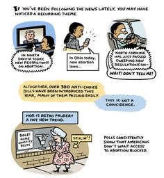 A Comic To Explain Stupid Attacks On Reproductive Rights