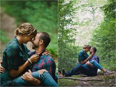 Engagement photos in the woods💚 Engagement Couple, Engagement Pictures, Engagement Shoots, Wedding Pictures, Wedding Engagement, Engagment Poses, Engagement Ideas, Couple Photography, Engagement Photography