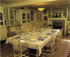 salle à manger Claude Monet - Giverny