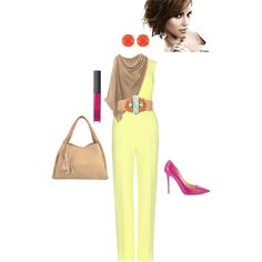 """""""Spring into the office"""" by shellishells on Polyvore"""