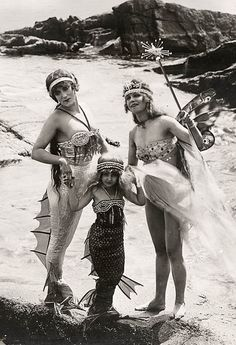 Mermaids - vintage photo - selection-du-weekend-55-53