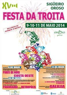 XVIII Festa da Troita 2014 en Oroso #galicia #festas
