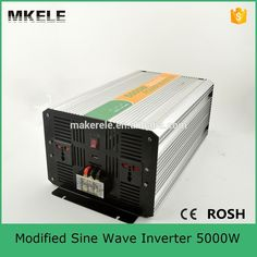 247.00$  Buy now - http://ali4hv.worldwells.pw/go.php?t=32507852462 - MKM5000-242G high power inverters modified sine wave off grid inverter 5000w 24v 220v power inverter manufacturers