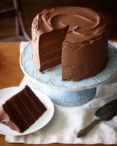 Rumor has it that today is national dessert day. So have cake! Recipe for Rees big chocolate b day cake on foodnetwork.com . It's a keeper. #foodstylist #cake