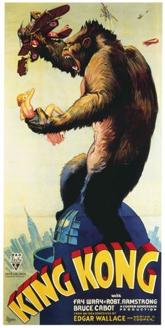 King Kong, hells yeah. I need this in my house.