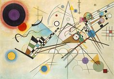 Wassily Kandinsky Composition VIII - Top reproduced famous Handmade Oil Painting Reproduction on Canvas Kandinsky For Kids, Kandinsky Art, Wassily Kandinsky Paintings, Chagall Paintings, Most Famous Paintings, Contemporary Abstract Art, Abstract Landscape, Landscape Paintings, Oil Painting Reproductions