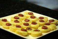 Mel e Pimenta: Canapés de polenta brustolada