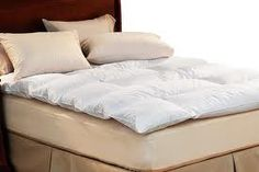 nest step for the trifecta!!! PILLOWS COMFORTER BED TOPPER!!! i will sleep in heaven!