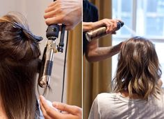 How to Style a Lob | InStyle.com The collarbone-skimming style is the perfect middle ground between long layers and a traditional bob, and we love how the look works on every texture, flatters just about every face shape, and creates extra volume with its staggered layers.