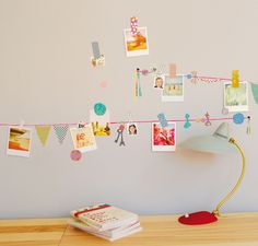 Washi tape banner as inspo wire!